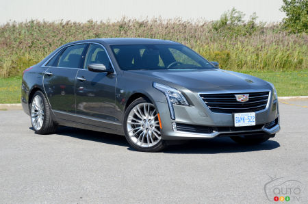 2016 Cadillac CT6 Review