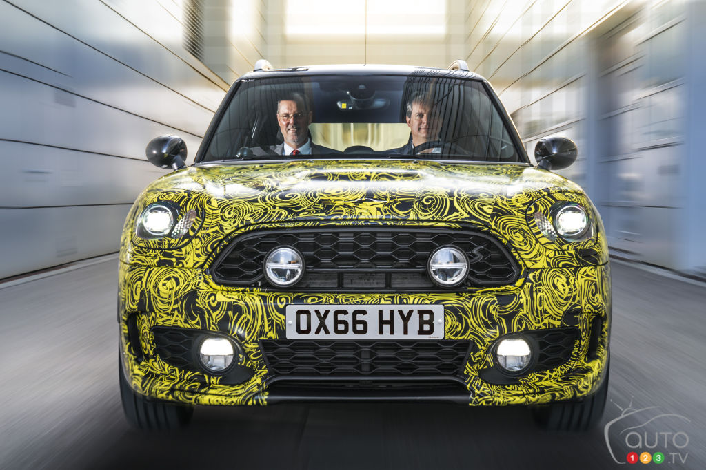 MINI Cooper plug-in hybrid on the way