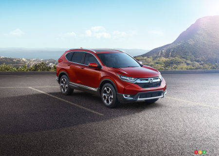 2017 Honda CR-V: Top 5 changes and updates