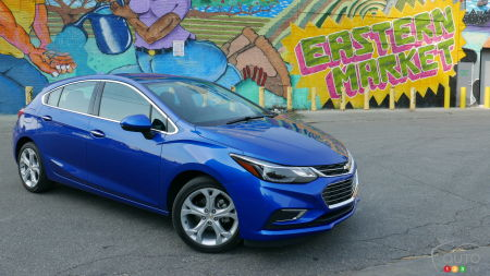 2017 Chevy Cruze Hatchback First Drive
