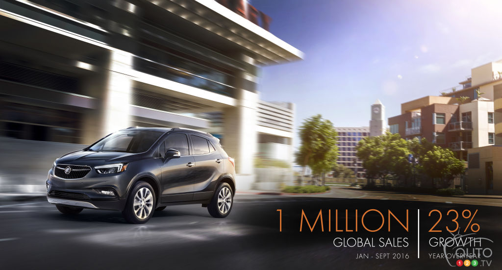 Already One Million Cars Sold in 2016 for Buick