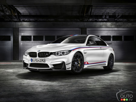 BMW M4 gets 500hp DTM Champion Edition