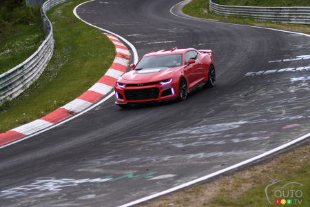 2017 Chevy Camaro ZL1 destroys Nürburgring (video)