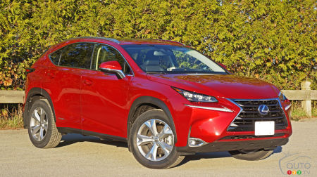 2016 Lexus NX 300h Executive Review