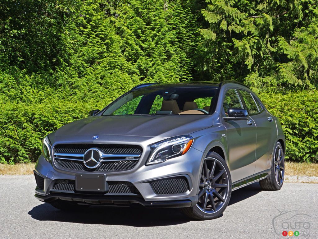 2016 Mercedes Gla 45 Amg 4matic Review