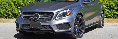 le mercedes gla 45 amg 4matic 2016 est le roi essais routiers auto123. Black Bedroom Furniture Sets. Home Design Ideas
