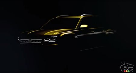 New Volkswagen midsize SUV teased in video