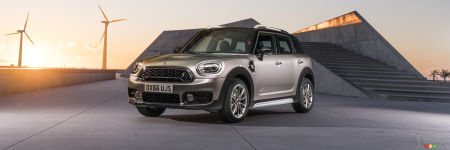 la nouvelle mini countryman 2017 ajoute une version hybride actualit s automobile auto123. Black Bedroom Furniture Sets. Home Design Ideas