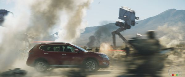 2017 Nissan Rogue featured in new Star Wars-inspired ad