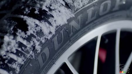 Dunlop Winter Sport featured in crazy stunt