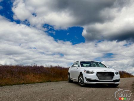 Genesis G90 and G80 Canadian prices unveiled