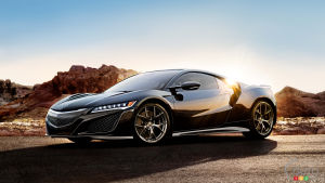 "Acura NSX named 2017 Performance Car of the Year by ""Road & Track"""