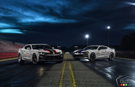 Chevy Camaro SS wants to make you faster on the quarter mile