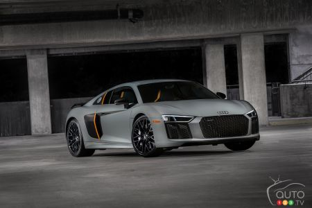 Los Angeles 2016: See the 2017 Audi R8 V10 plus exclusive with lasers!