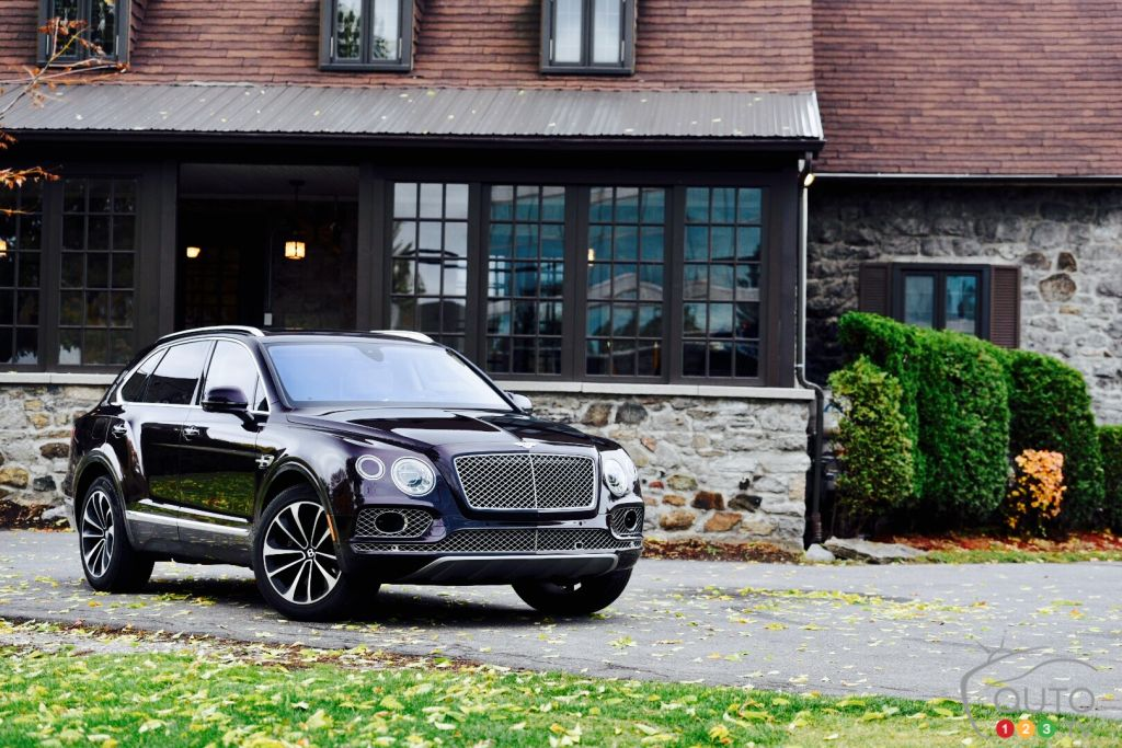 Bentley Bentayga super-luxury SUV meets Auto123.com!