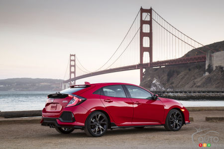 New Honda Civic Hatchback, Type R are the latest advertising stars