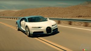 Bugatti Chiron passes hot weather test (video)