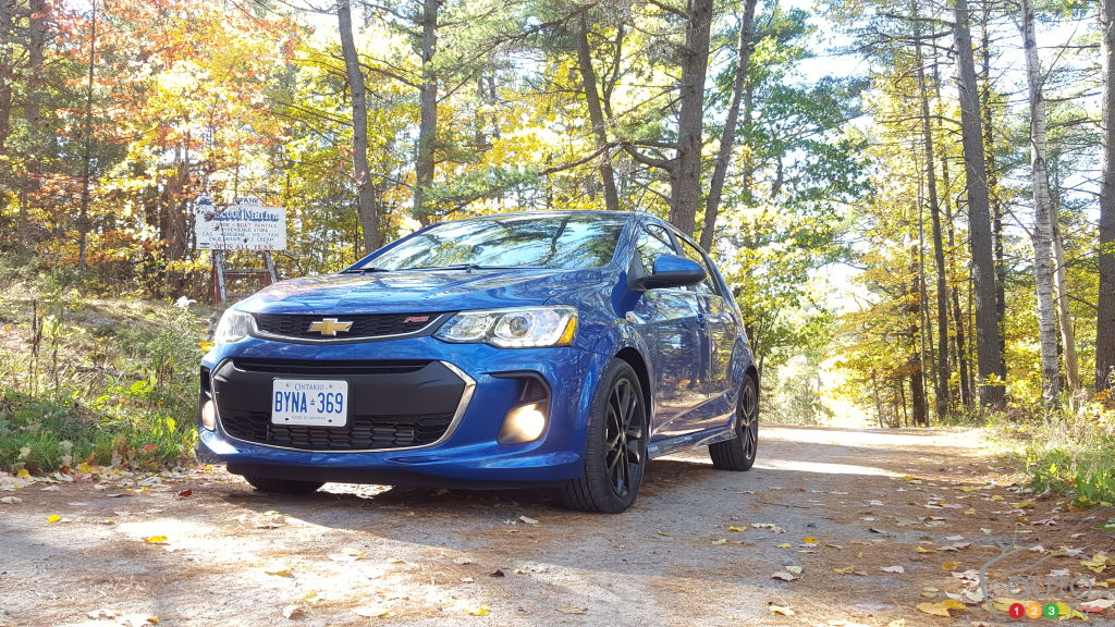 2017 Chevy Sonic Premier Review