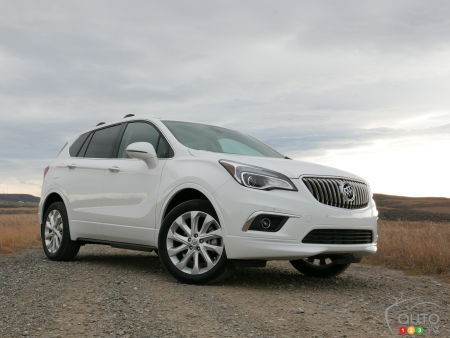 2017 Buick Envision First Drive