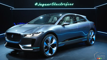 Los Angeles 2016: All-electric Jaguar I-PACE Concept unveiled on show's eve (videos)