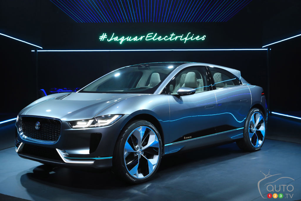 Los Angeles 2016: All Electric Jaguar I PACE Concept Unveiled On Showu0027s Eve  (videos)