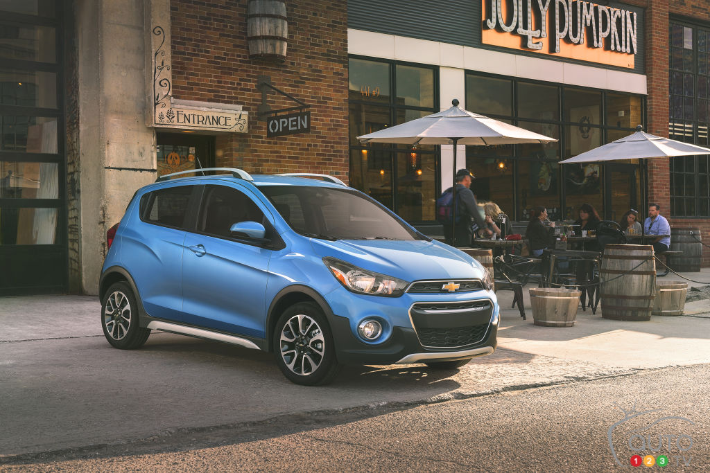 Los Angeles 2016: The Chevrolet Spark ACTIV Makes its Debut