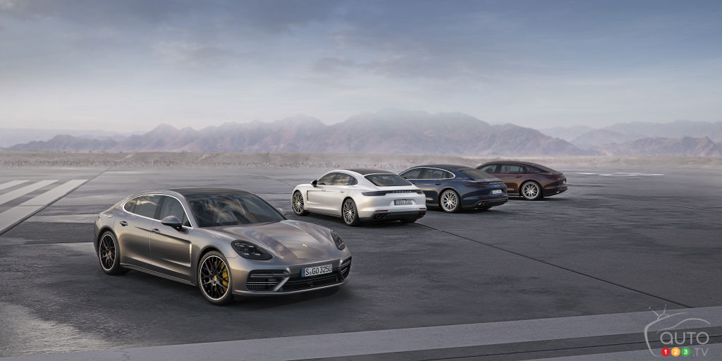 Los Angeles 2016: New Porsche Panamera Executive models introduced (video)