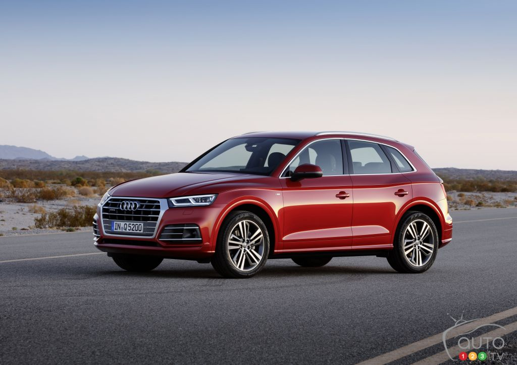 Los Angeles 2016: Audi Q5, A5 and S5 Sportback land in North America (videos)