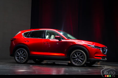 Los Angeles 2016 All New Mazda Cx 5 To Add Sel Engine Rival Hybrids