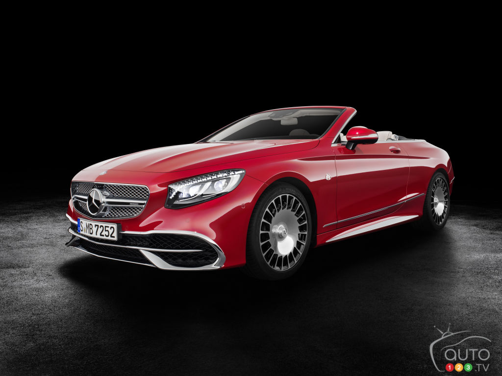 Los Angeles 2016: Mercedes-Maybach S 650 Cabriolet fully revealed (video)