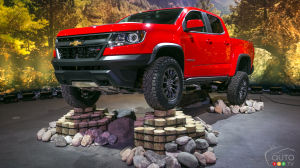 Los Angeles 2016: Chevy Colorado ZR2 maximizes off-road capability (video)