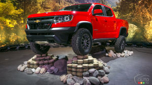 Los Angeles 2016 : le Chevrolet Colorado ajoute une robuste version ZR2 (vidéo)