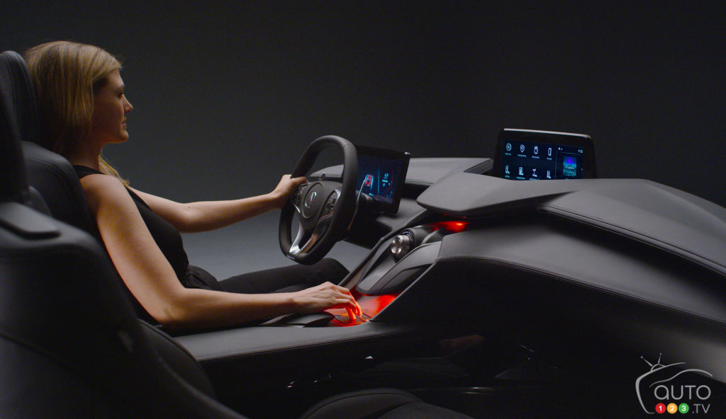 Los Angeles 2016: Acura Unveils New Interior Concept