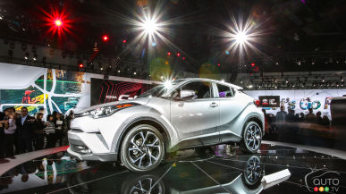 Los Angeles 2016: All-new 2018 Toyota C-HR is no ordinary Toyota (video)