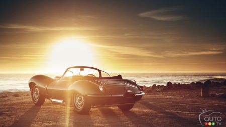 Los Angeles 2016: Jaguar XKSS prototype is a stunning blast from the past (video)