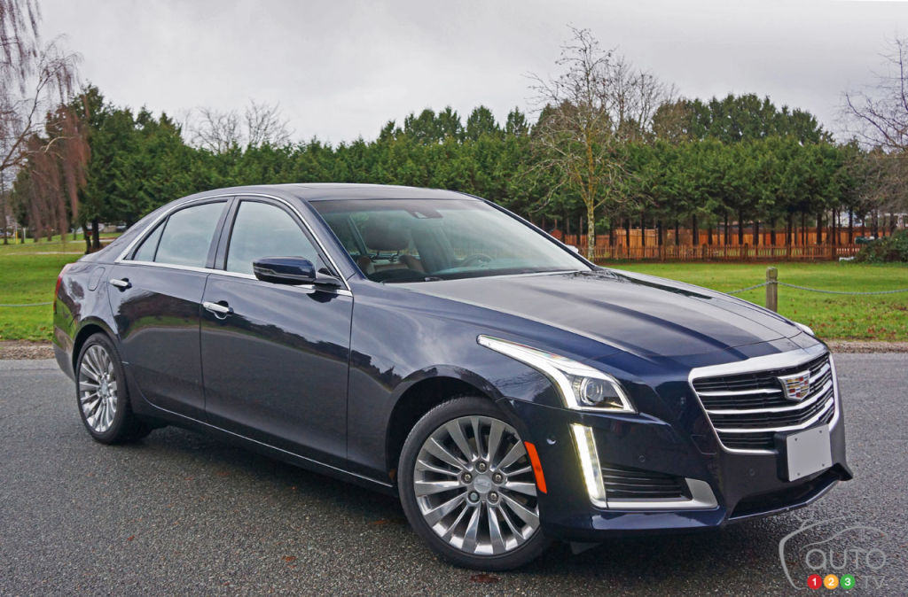 2016 Cadillac CTS impresses in 3.6L Premium AWD trim | Car ...