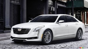 2017 Cadillac CT6 Plug-In Hybrid on sale next spring