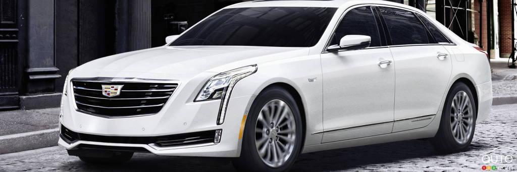 la cadillac ct6 hybride rechargeable en vente au printemps actualit s automobile auto123. Black Bedroom Furniture Sets. Home Design Ideas