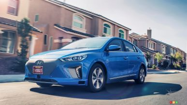 Los Angeles 2016 : la Hyundai IONIQ autonome ajoute de l'intrigue