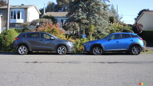 Face à face : Honda HR-V vs Mazda CX-3