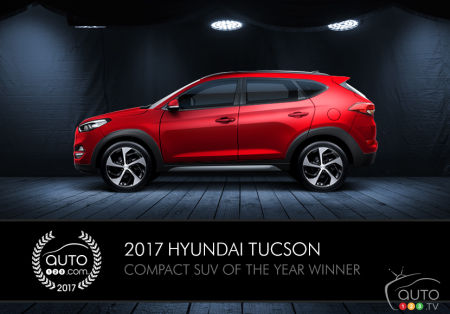 2017 Hyundai Tucson, Auto123.com's Compact SUV of the Year