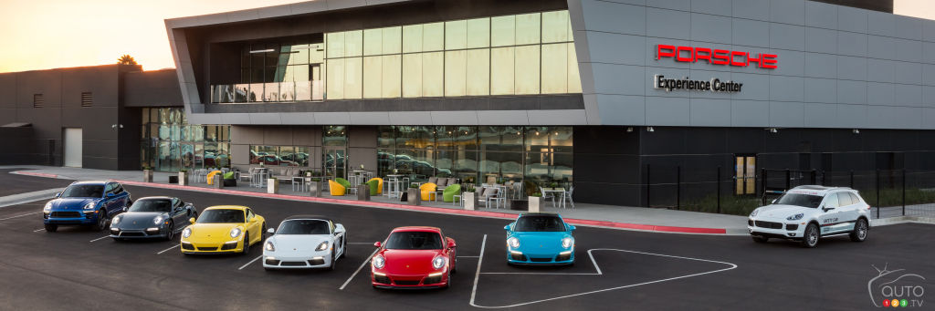 porsche experience center opens in los angeles car news auto123. Black Bedroom Furniture Sets. Home Design Ideas