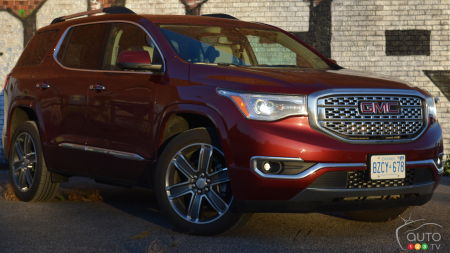 2017 GMC Acadia Denali Review