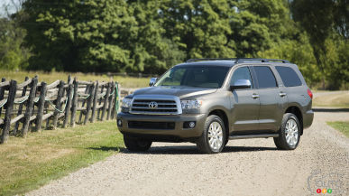 2017 Toyota Sequoia Quick Look (with photo gallery)