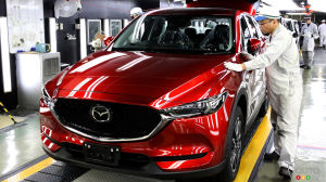 All-new Mazda CX-5 production begins in Japan
