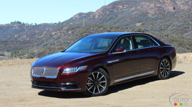 2017 Lincoln Continental First Drive
