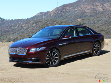 Lincoln Continental 2017 : premières impressions
