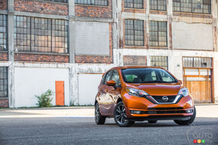 2017 Nissan Versa Note on sale this month from $14,498