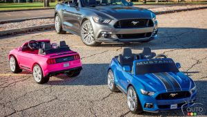 2016 Christmas gift idea: Power Wheels Smart Drive Ford Mustang