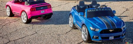 Idée cadeau de Noël 2016 : Ford Mustang Power Wheels Smart Drive